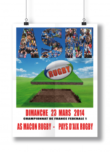 AS Macon Rugby affiche7