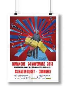 AS Macon Rugby affiche6