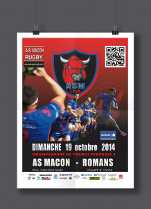AS Macon Rugby affiche1